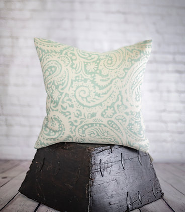 16x16 Turquoise Pillow