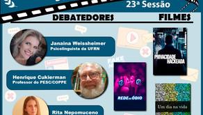 "Cinedebate ""Infodemia, fake news e sociedade"" 30/09 - 18h30"