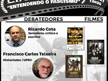 "Cinedebate ""Entendendo Fascismo""  27/05 - 18h30"