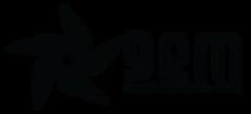 Logo lateral preta