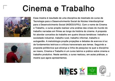 Cartaz Cinema e Trabalho