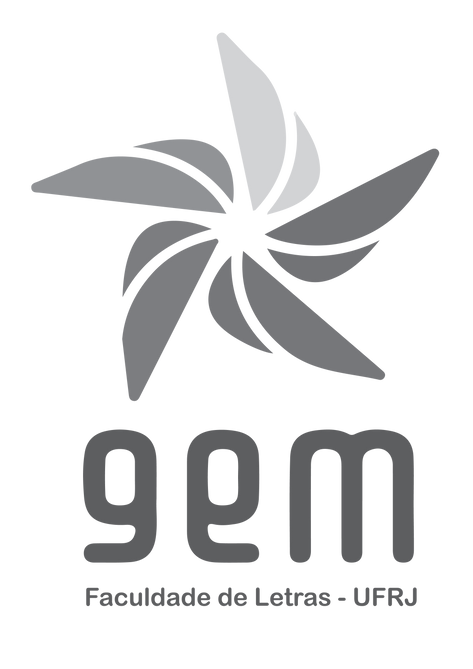 Logo vertical cinza