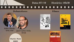 """Cinedebate """"Direito à Cidade III"""" 07/10 - 18h30"""