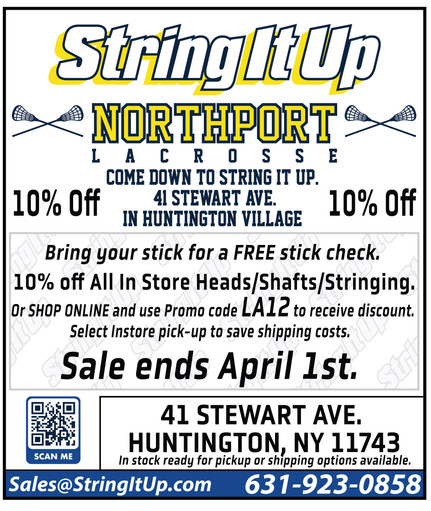 10% Discount for NLC at String It Up