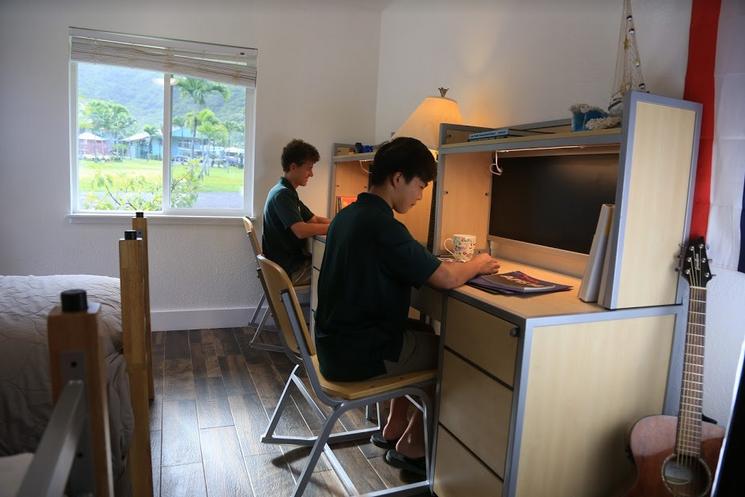 Dormitory Room Study Space