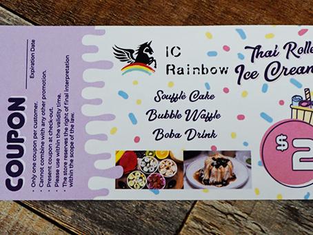 The Many Ways to Save $$$ at IC Rainbow, Temecula's Top Ice Cream Shop
