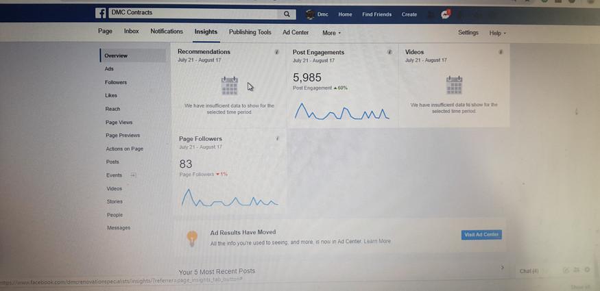 DMC Facebook Organic Reach 2
