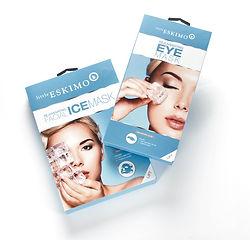 Little Eskimo Eye & face mask packaging
