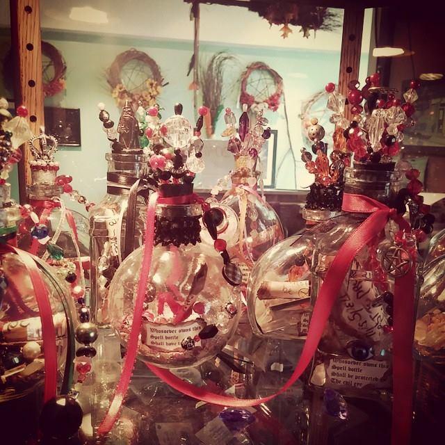 Laurie Cabot Spell Bottles
