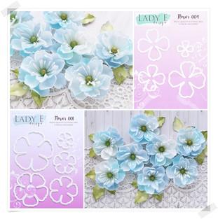 Lady E Design Flower 001 & 004 Cutting Die