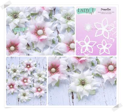 Lady E Design Poinsettia Cutting Die