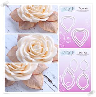 Flower 003 & Leaves 001