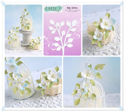 Lady E Design Tiny Leaves Cutting Die
