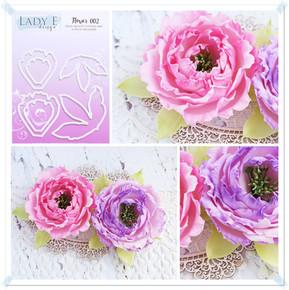 Lady E Design Flower 002 Cutting Die