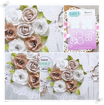 Lady E Design Flower 8 Cutting Die