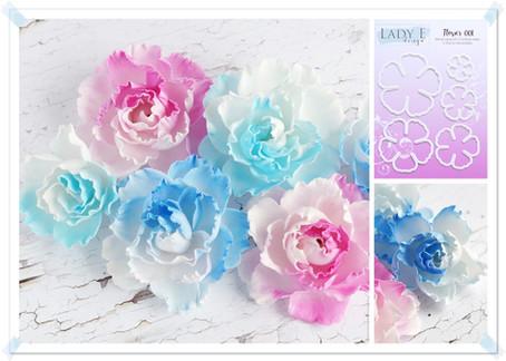Lady E Design Flower 001 Cutting Die