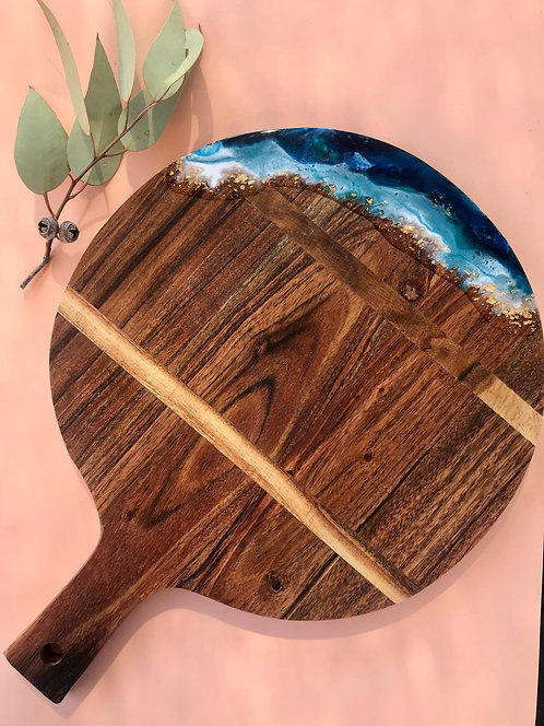Round paddle serving board #6