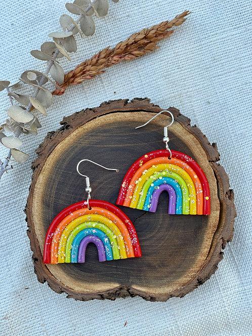Glitter Rainbow Hooks