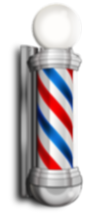 The iconic image of a barber pole is such an inviting symbol in our industry.  We would not dare be without it.  In fact we have 2.
