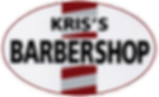 The logo that started it all.  Kris's Family Barbershop logo with barber pole.