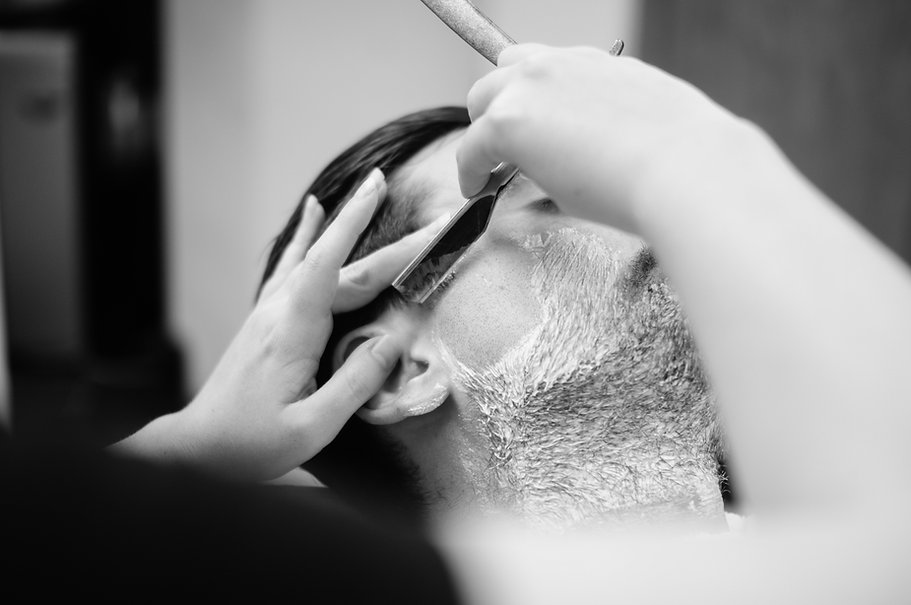We do hot towel shaves and pay attention to all details.  Giving you a fresh look