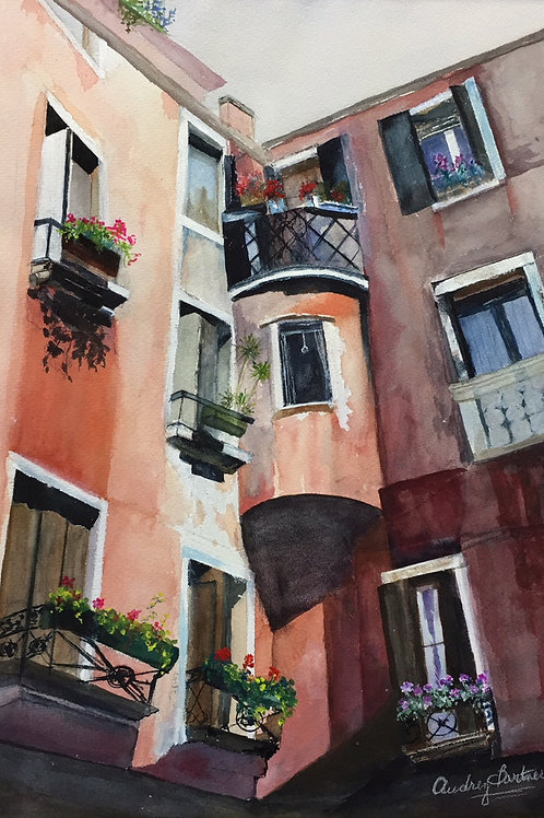 An Alley in Venice (SOLD)
