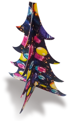 Duplexed Tripod Advent Calendar
