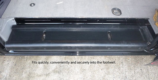 Van Side Sill Impact Protection System