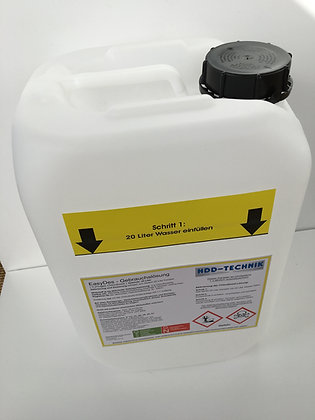 Leerkanister 25 Liter ohne Ansauglanze