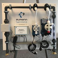 CombiDes 2018 - mit Ultraschall-Wasserme
