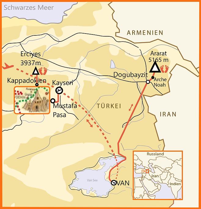 Kopie von At 14 Tage Kappadokien - Arara
