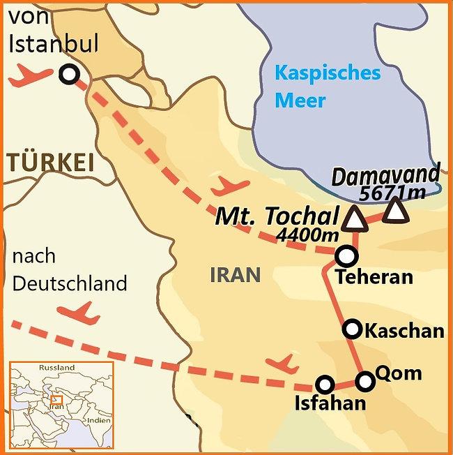 Tochal  - Demavand - Isfahan karte.jpg