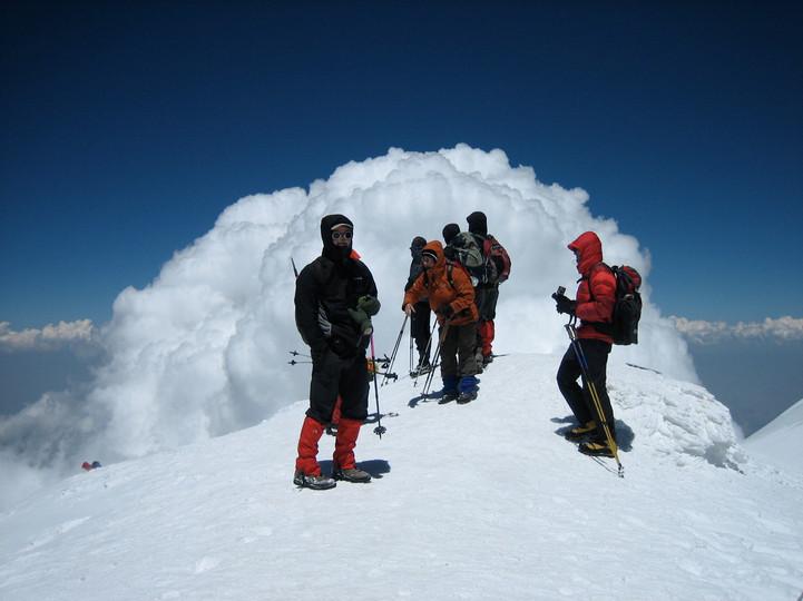 Ararat Gipfel (5165m)