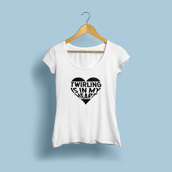 """Woman  """"In My Heart - WHITE"""""""