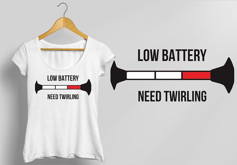 """Woman  """"Battery - WHITE"""""""