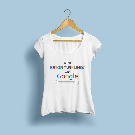 "Woman  ""Google"""