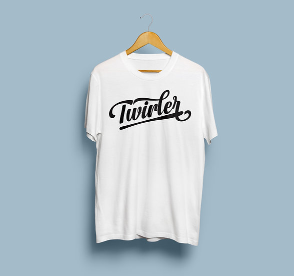 "Unisex (man/woman/kids) - ""Twirler - WHITE"""