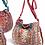Thumbnail: Embroidered shoulder bag - cream