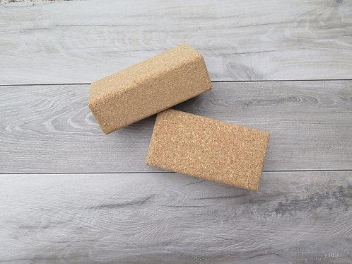 Cork brick