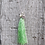 Thumbnail: Green Tassel Necklace - choose your charm