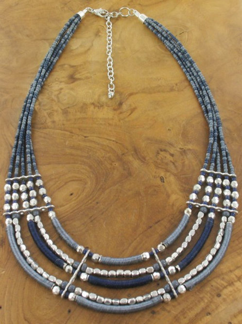 Bead String Necklace