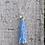 Thumbnail: Blue Tassel Necklace - choose your charm
