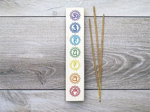 Incense holder - Chakras