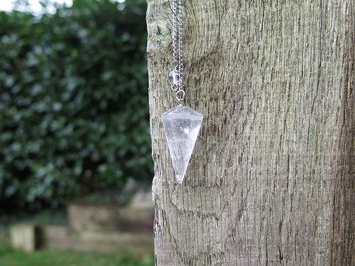 Pendulum - clear quartz