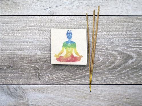 Incense holder -Yoga