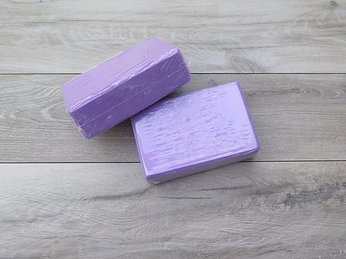 Foam block purple