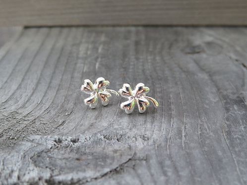 Four Clover Stud Earrings