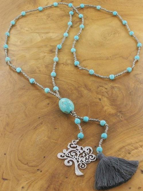 Tree Tassle Necklace