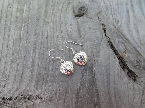 Puffed Heart Earrings
