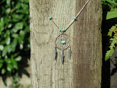 Necklace - Large Dream Catcher